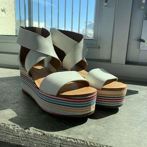 Lucky Brand Gwindolin Espadrille Wedge Sandal